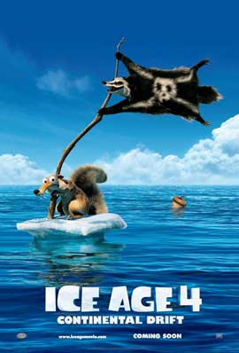 Ice Age: Continental Drift - 27 x 40 Movie Poster - Style A