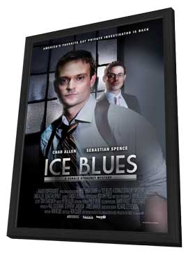 Ice Blues - 27 x 40 Movie Poster - Style A - in Deluxe Wood Frame