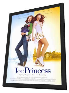 Ice Princess - 27 x 40 Movie Poster - Style A - in Deluxe Wood Frame