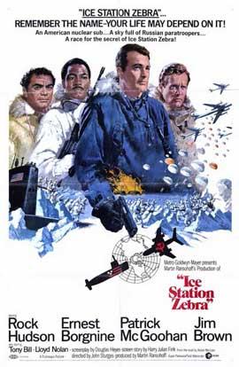 Ice Station Zebra - 11 x 17 Movie Poster - Style A