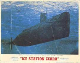 Ice Station Zebra - 11 x 14 Movie Poster - Style A