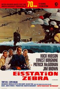 Ice Station Zebra - 27 x 40 Movie Poster - German Style A