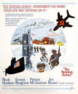 Ice Station Zebra - 11 x 17 Movie Poster - Style B