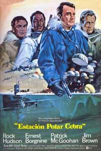 Ice Station Zebra - 27 x 40 Movie Poster - Spanish Style A