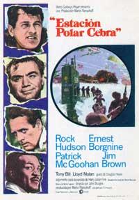 Ice Station Zebra - 11 x 17 Movie Poster - Spanish Style B