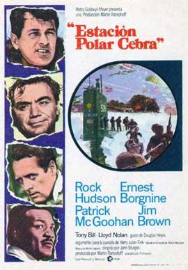 Ice Station Zebra - 27 x 40 Movie Poster - Spanish Style B