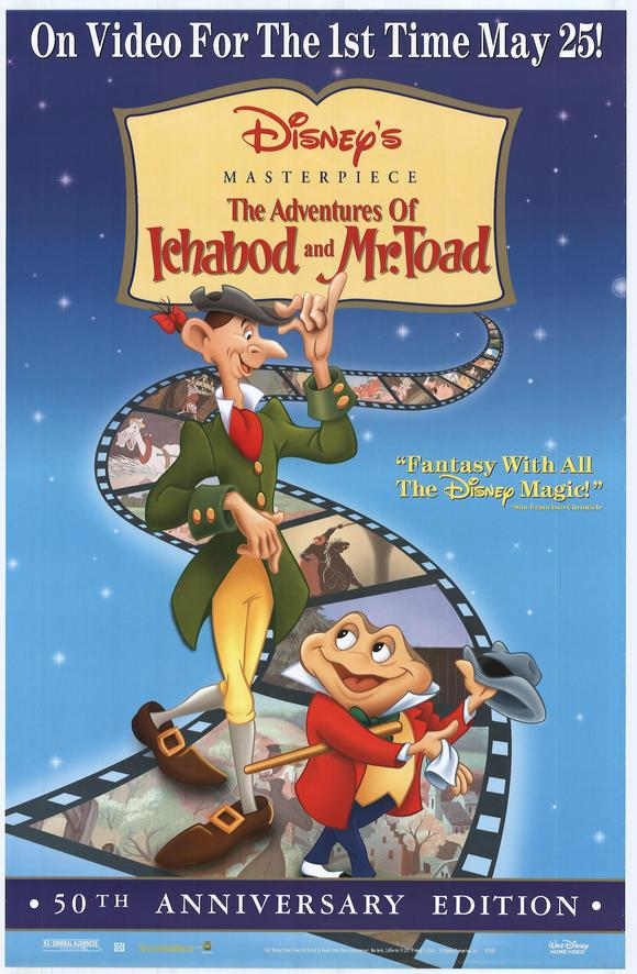 Ichabod and Mister Toad Movie Posters From Movie Poster Shop