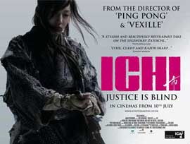 Ichi - 11 x 17 Movie Poster - Style A
