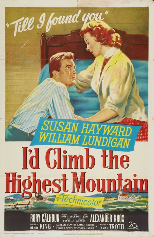 I D Climb The Highest Mountain Movie Posters From Movie
