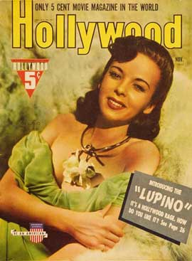 Ida Lupino - 27 x 40 Movie Poster - Hollywood Magazine Cover 1930's Style A