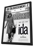 Ida - 27 x 40 Movie Poster - French Style A - in Deluxe Wood Frame