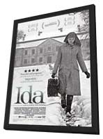 Ida - 27 x 40 Movie Poster - Style A - in Deluxe Wood Frame