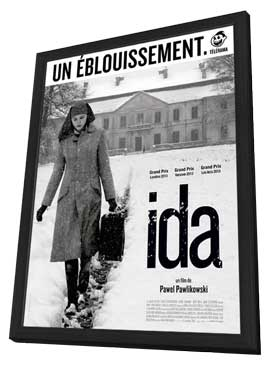 Ida - 11 x 17 Movie Poster - French Style A - in Deluxe Wood Frame