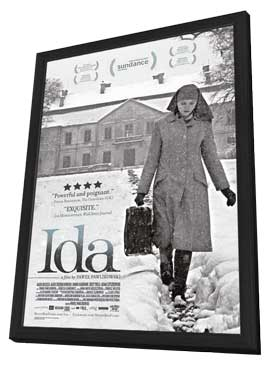 Ida - 11 x 17 Movie Poster - Style A - in Deluxe Wood Frame