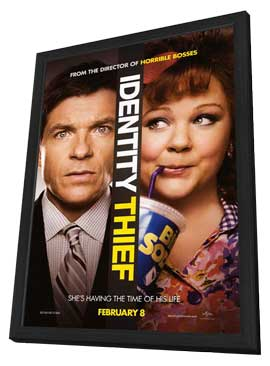 Identity Thief - 11 x 17 Movie Poster - Style A - in Deluxe Wood Frame