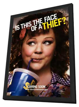 Identity Thief - 27 x 40 Movie Poster - Style B - in Deluxe Wood Frame