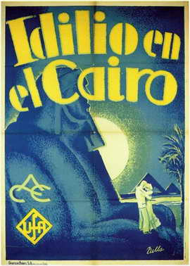 Idilio en el Cairo - 11 x 17 Movie Poster - Spanish Style A