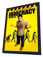 Idiocracy - 27 x 40 Movie Poster - Style B - in Deluxe Wood Frame