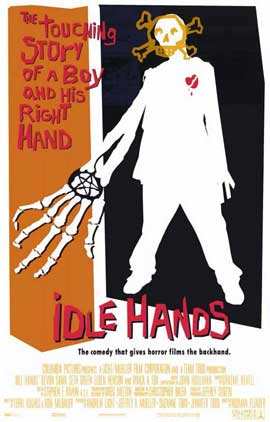 Idle Hands - 11 x 17 Movie Poster - Style B