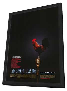 Idlewild - 11 x 17 Movie Poster - Style A - in Deluxe Wood Frame