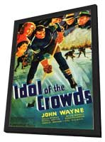 Idol of the Crowds - 11 x 17 Movie Poster - Style A - in Deluxe Wood Frame