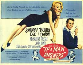 If a Man Answers - 11 x 14 Movie Poster - Style A