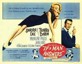 If a Man Answers - 22 x 28 Movie Poster - Half Sheet Style A