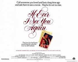 If Ever I See You Again - 11 x 14 Movie Poster - Style A