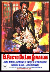 If He Hollers, Let Him Go - 11 x 17 Movie Poster - Spanish Style A