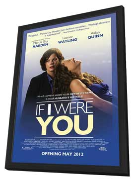 If I Were You - 27 x 40 Movie Poster - Style A - in Deluxe Wood Frame