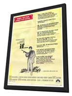 If. . . - 27 x 40 Movie Poster - Style C - in Deluxe Wood Frame