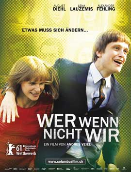 If Not Us, Who? - 11 x 17 Movie Poster - German Style A