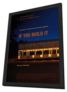 If You Build It - 11 x 17 Movie Poster - Style A - in Deluxe Wood Frame
