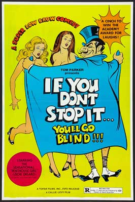 If You Don't Stop It. . .You'll Go Blind - 27 x 40 Movie Poster - Style B