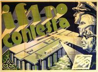 I.F.1. No Contesta - 11 x 17 Movie Poster - Spanish Style A