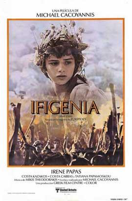 Ifigenia - 11 x 17 Movie Poster - Spanish Style A