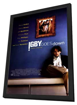 Igby Goes Down - 11 x 17 Movie Poster - Style A - in Deluxe Wood Frame
