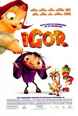 Igor - 11 x 17 Movie Poster - Style B