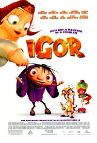 Igor - 43 x 62 Movie Poster - Bus Shelter Style B