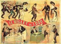 Il biglietto da mille - 11 x 17 Movie Poster - French Style A
