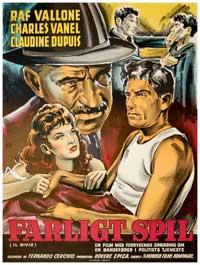 Il bivio - 11 x 17 Movie Poster - Danish Style A