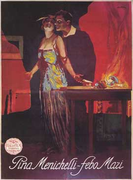 Il Fuoco - 11 x 17 Movie Poster - Italian Style A