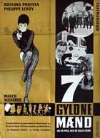 Il grande colpo dei sette uomini d'oro - 11 x 17 Movie Poster - Danish Style A