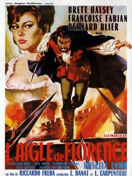 Il Magnifico Avventuriero - 11 x 17 Movie Poster - French Style A