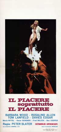 Il Piacere Soprattutto il Piacere - 13 x 28 Movie Poster - Italian Style A