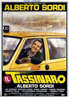 Il tassinaro - 11 x 17 Movie Poster - Italian Style A