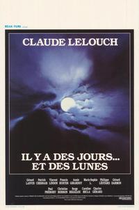 Il y a des jours... et des lunes - 11 x 17 Movie Poster - Belgian Style A