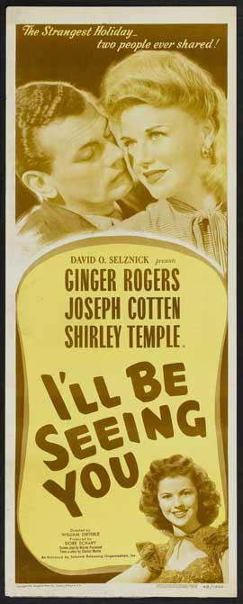 I'll Be Seeing You - 14 x 36 Movie Poster - Insert Style A