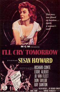 I'll Cry Tomorrow - 27 x 40 Movie Poster - Style A