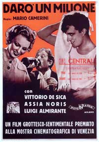 I'll Give a Million - 27 x 40 Movie Poster - Italian Style A